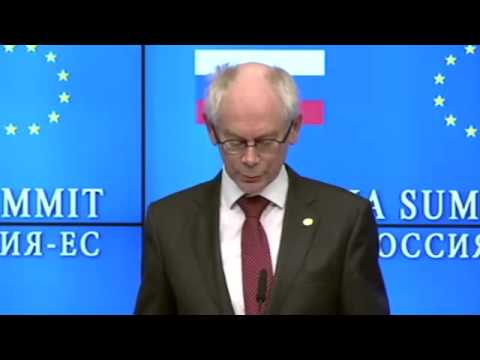 EU Leader Van Rompuy Calls for Global Governance