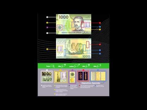 ¿Cómo identificar un billete de 1000 pesos chilenos falso?