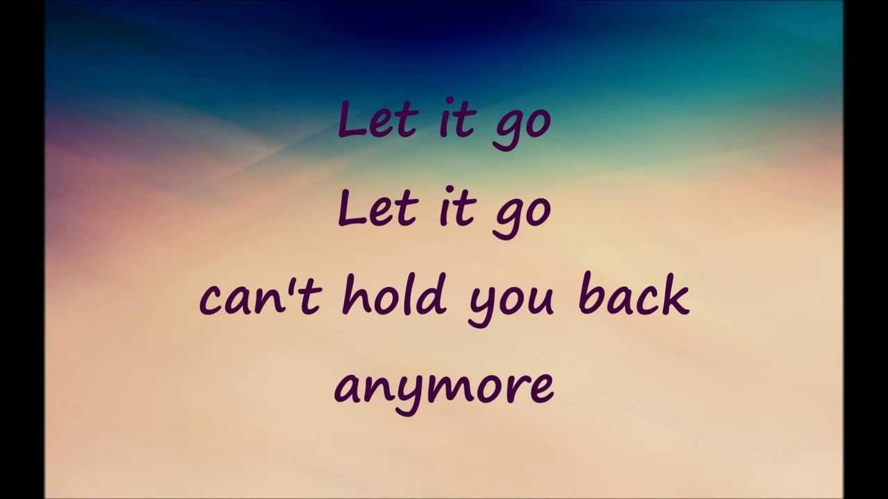 Disney Frozen Song Let Demi Lovato Let It Go Lyrics Youtube