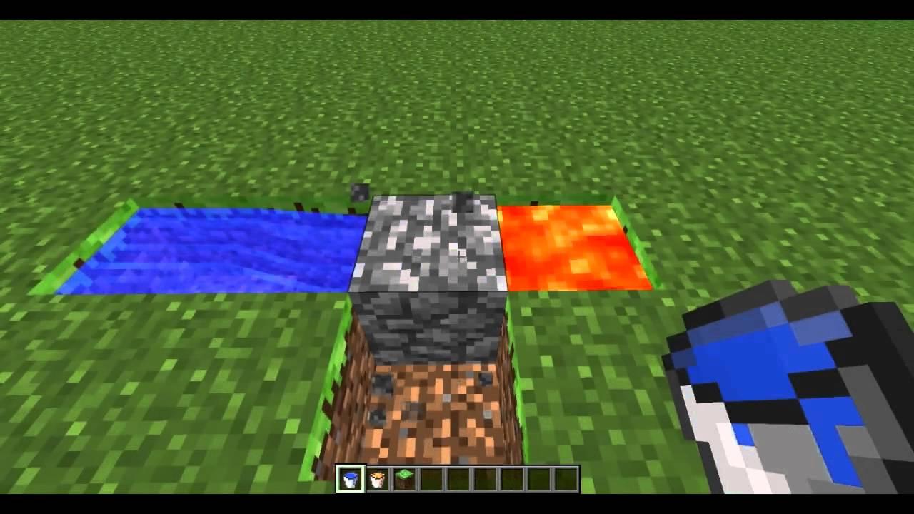How To Build A Cobblestone Generator In Minecraft Xbox