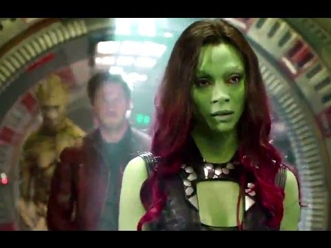 Guardians of the Galaxy Official Featurette - Gamora (2014) Zoe Saldana HD
