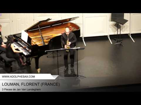 Dinant 2014 - LOUMAN, Florent (3 Pieces by Jan Van Landeghem)