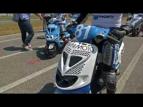 Pomposa - Scooter 70 Evo MONO+OPEN - Polini Italian Cup 2014