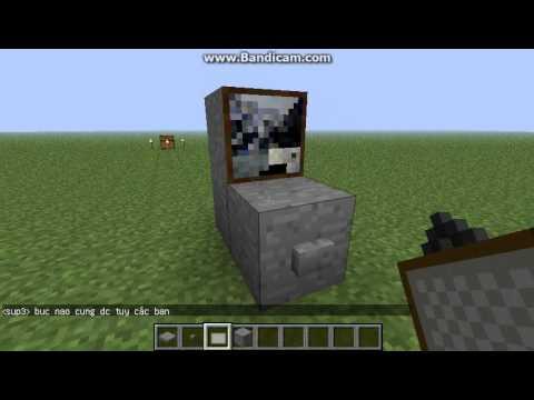 Hướng dẫn làm máy tính Minecraft