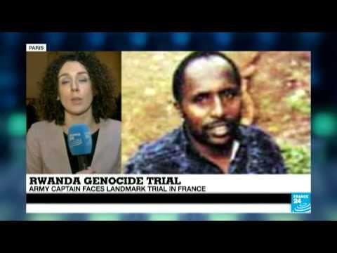 Rwandan genocide: Army captain faces landmark trial in France