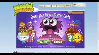 Códigos Moshi Monsters