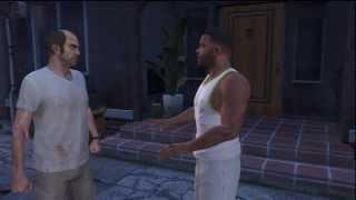 GTA V: Trevor Flips Out On Franklin