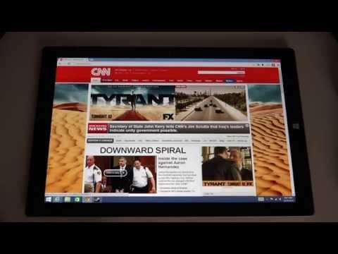Microsoft Surface Pro 3 Bug List
