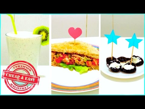3 healthy and yummy snacks - under 100 calories!!