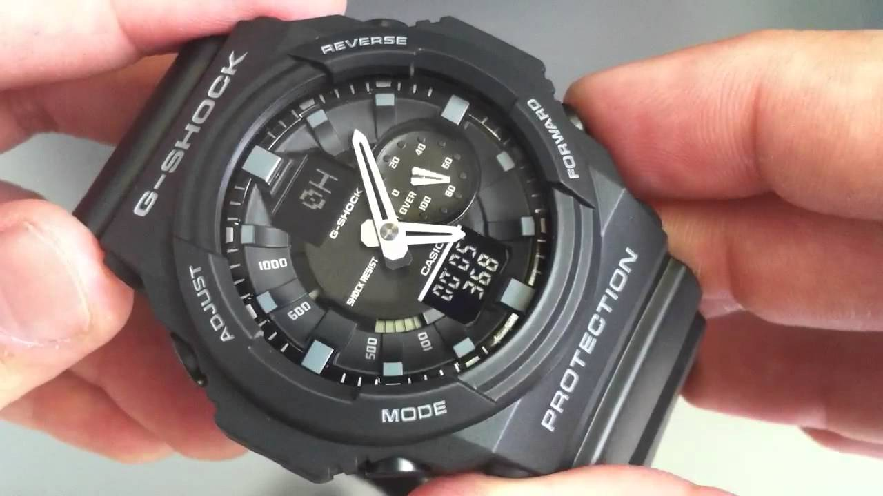 how to change time on g shock watch 5146