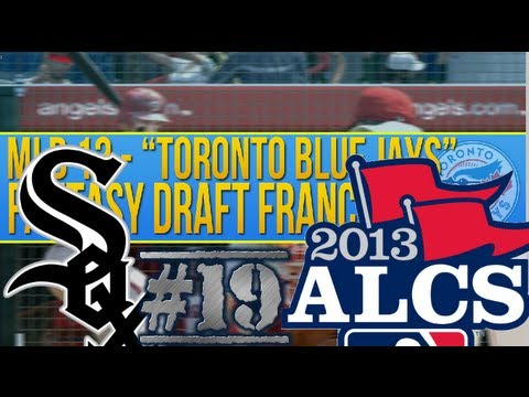 MLB 2K13 Fantasy Draft Franchise - ALCS vs WHITE SOX! (#19)