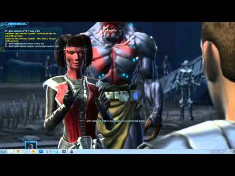 SWTOR - Star Wars The Old Republic Sith Inquisitor Gameplay 9+ HD 720p Part 4