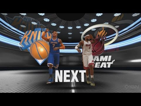 NBA 2K14 PS4- Miami Heat vs. New York Knicks