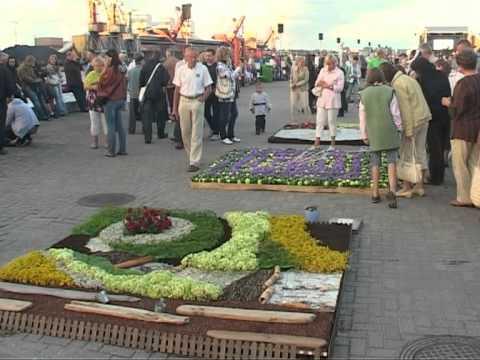 Смотреть видео Прошел Праздник города Вентспилс