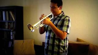 Como tocar la trompeta. Ejercicios de flexibilidad