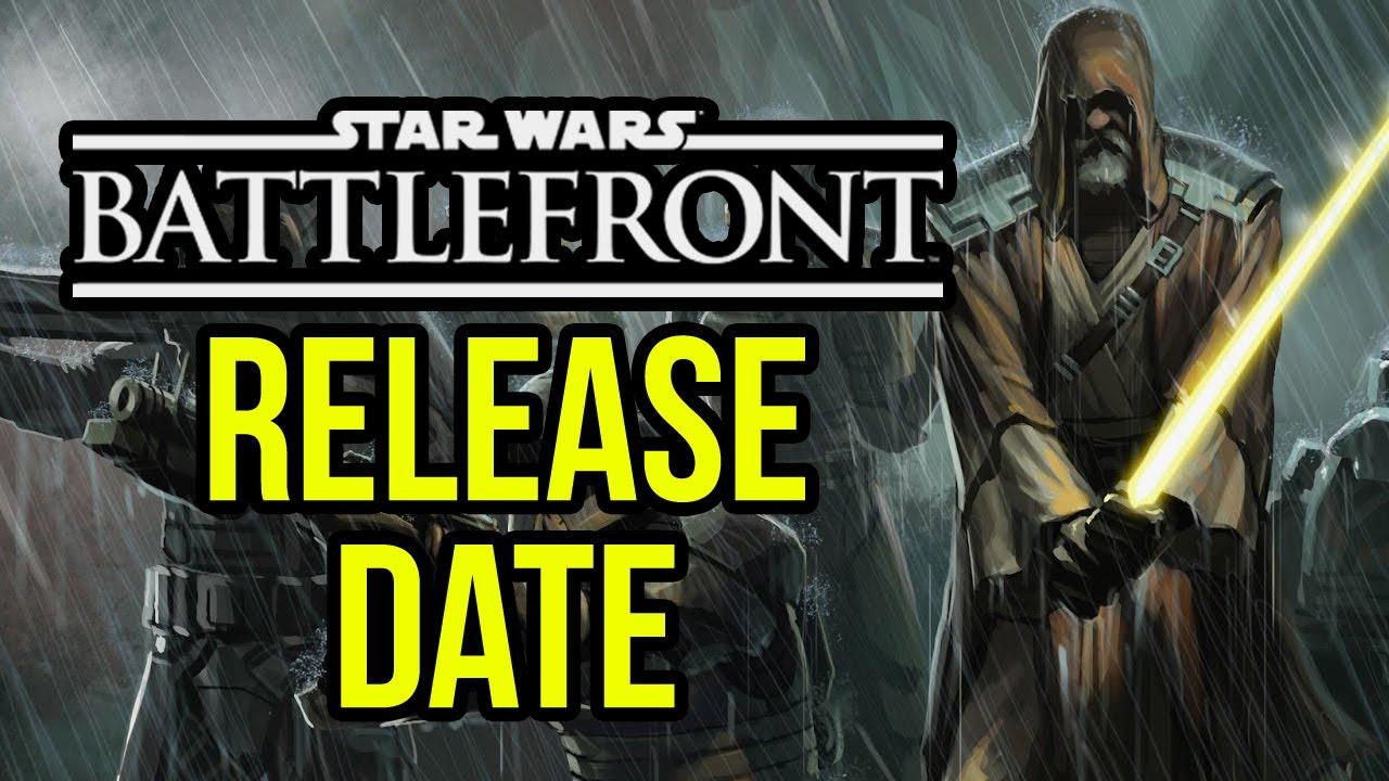 Star wars battle front release date