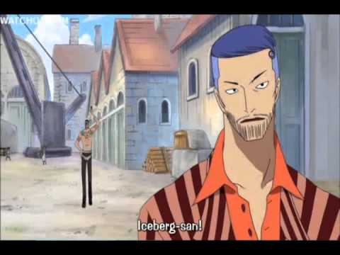 One Piece Funny Moments- Iceburg The Mayor,