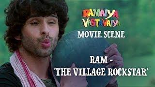 Ram 'The Village Rockstar' Ramaiya Vastavaiya Scene