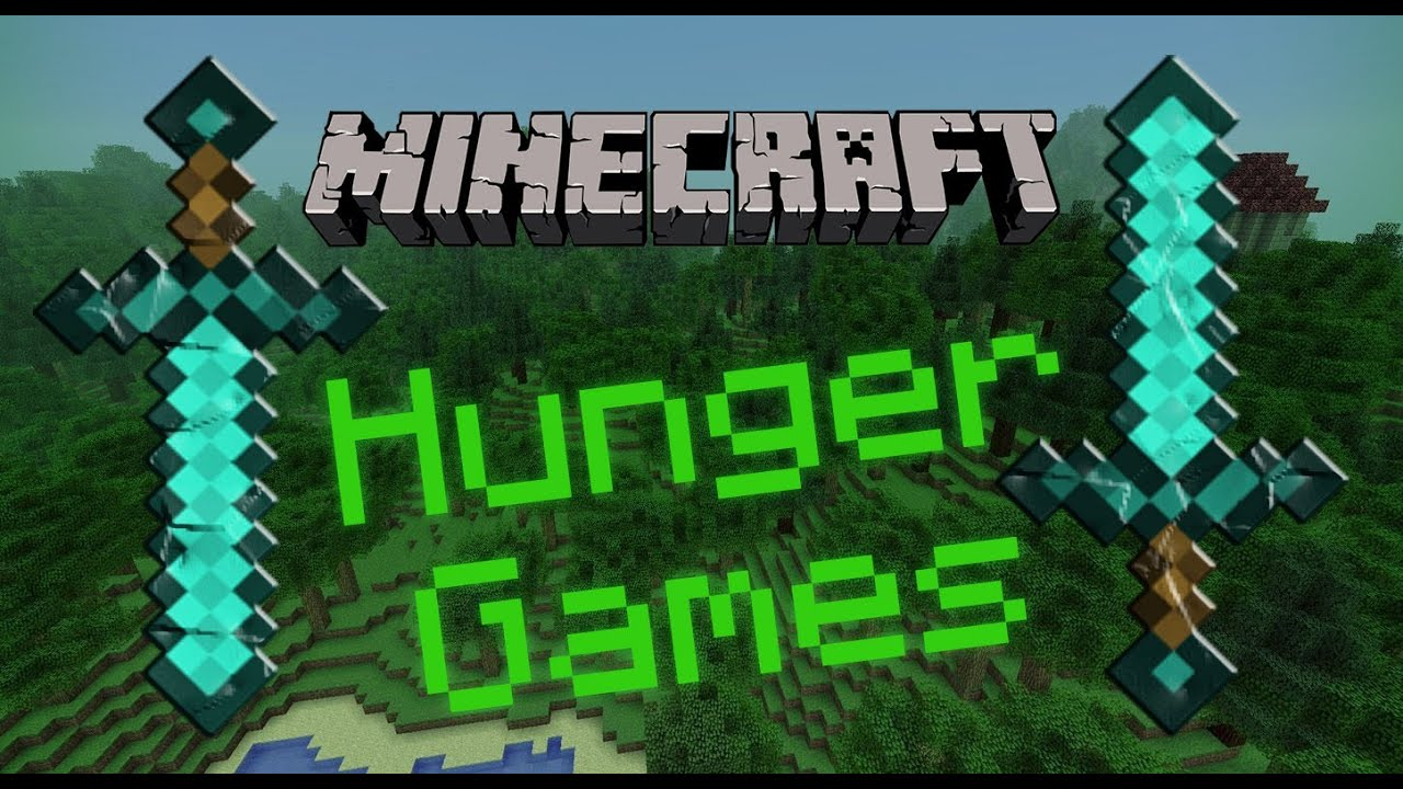 Hunger games minecraft фото