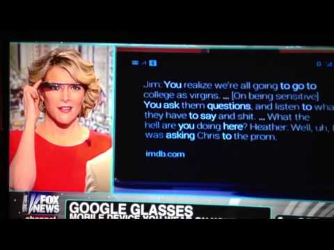 Fox News Googleglass Oops