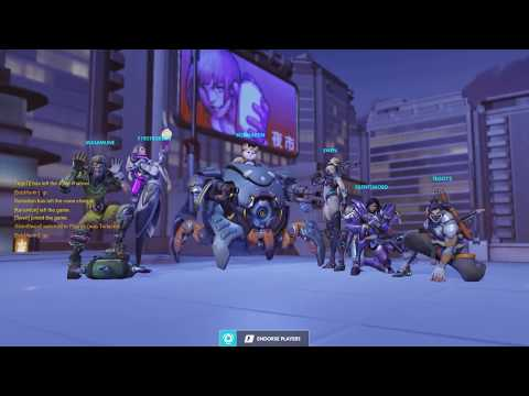 Overwatch Gameplay #4 | Liang Tower Victory