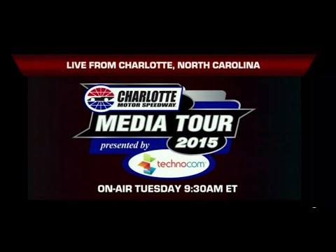 Day 2 of Charlotte Motor Speedway Media Tour
