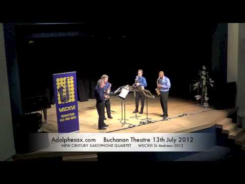 WSCXVI NEW CENTURY SAXOPHONE QUARTET   May, June, July by Michael Torke