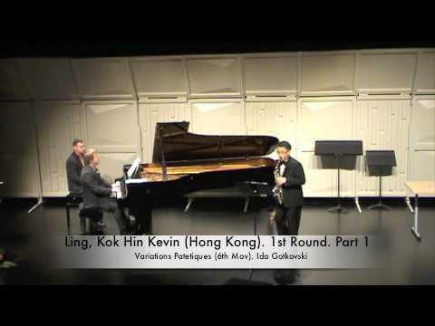 Ling, Kok Hin Kevin (Hong Kong). 1st Round. Part 1