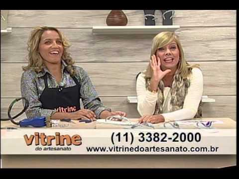 Chinelos Customizados com Andreia Bassan -Vitrine do Artesanato na TV