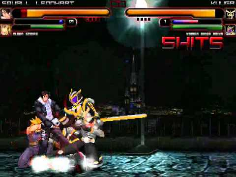 TK's Random Mugen Battle #1146 - Squall Leonhart & Cloud Strife VS Kuuga & Kaixa