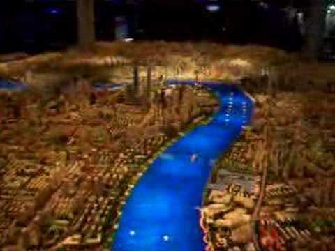 Maqueta de la Ciudad de Shanghai