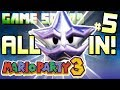 GAME SQUAD Mario Party 3 Deep Blooper Sea Part 5 ALL IN FINALE