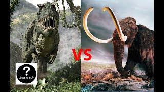Khủng long bạo chúa T-rex vs Voi Ma-mút, con nào sẽ thắng #6    Bạn Có Biết?