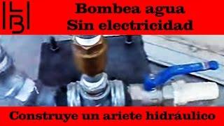 Bombea agua - construye un ariete hidráulico
