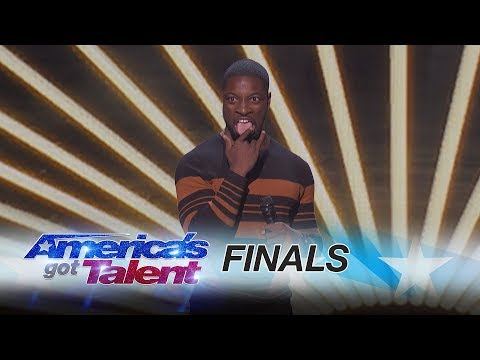 Preacher Lawson: Comedian Recalls A Weird Run-in With A Stranger - America's Got Talent 2017