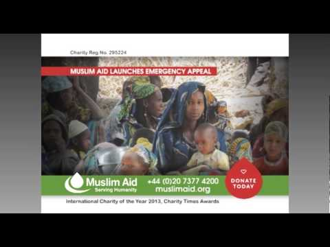 Muslim Aid - EMERGENCY APPEAL. Central African Republic Conflict. March 2014.