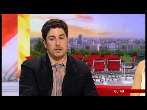 Taylor Schilling and Jason Biggs on BBC Breakfast 28.06.13