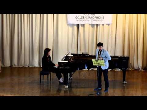 Golden Saxophone 2015 – Chirat Cherdkiatkul – Edison Denisov -Sonata