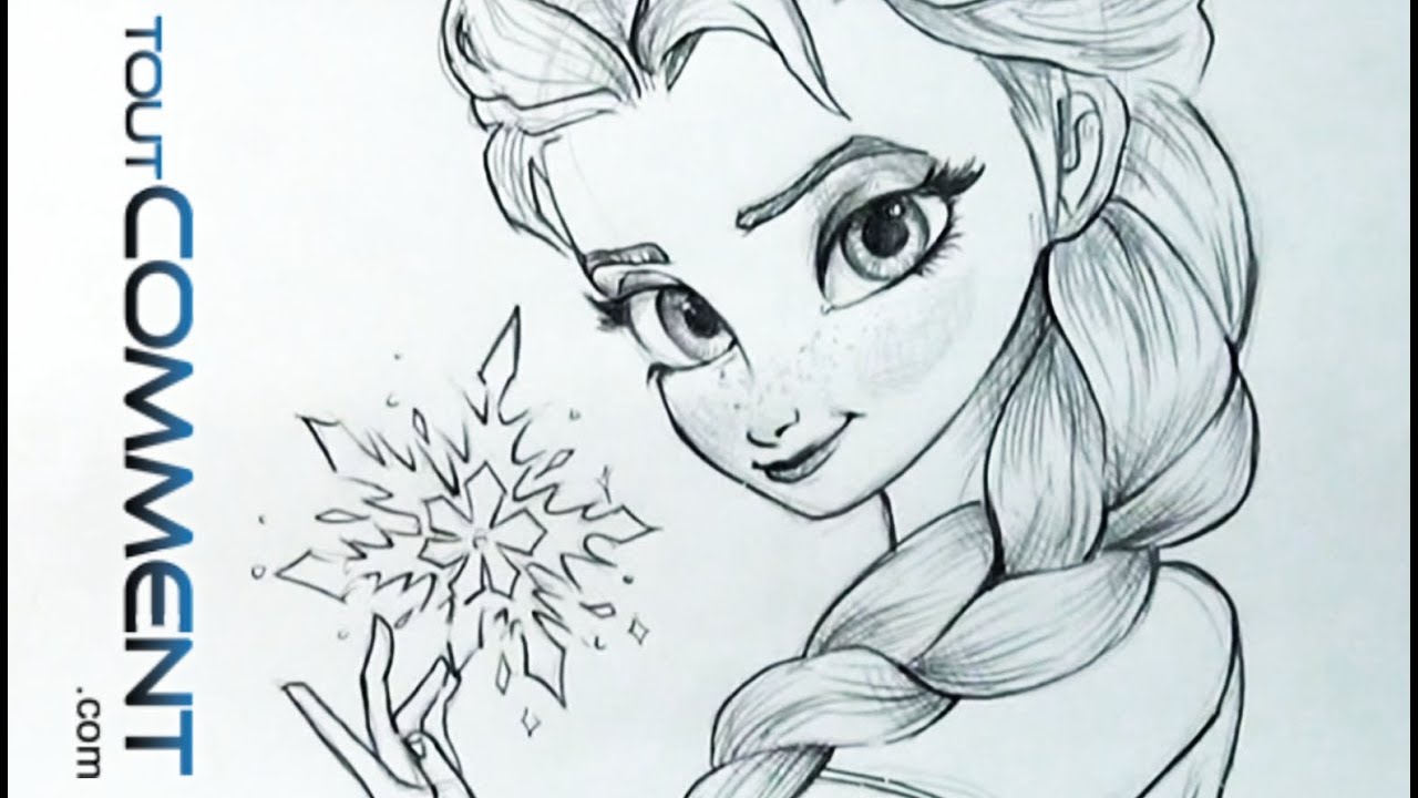 Dessiner elsa la reine des neiges elsa drawing tutorial frozen youtube - Comment dessiner les winx facilement ...