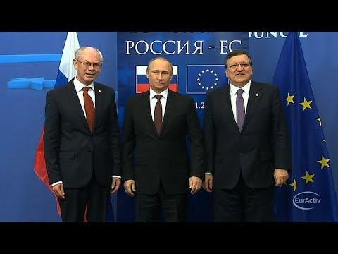 Putin reaffirms loan, energy offer to Ukraine at EU-Russia summit