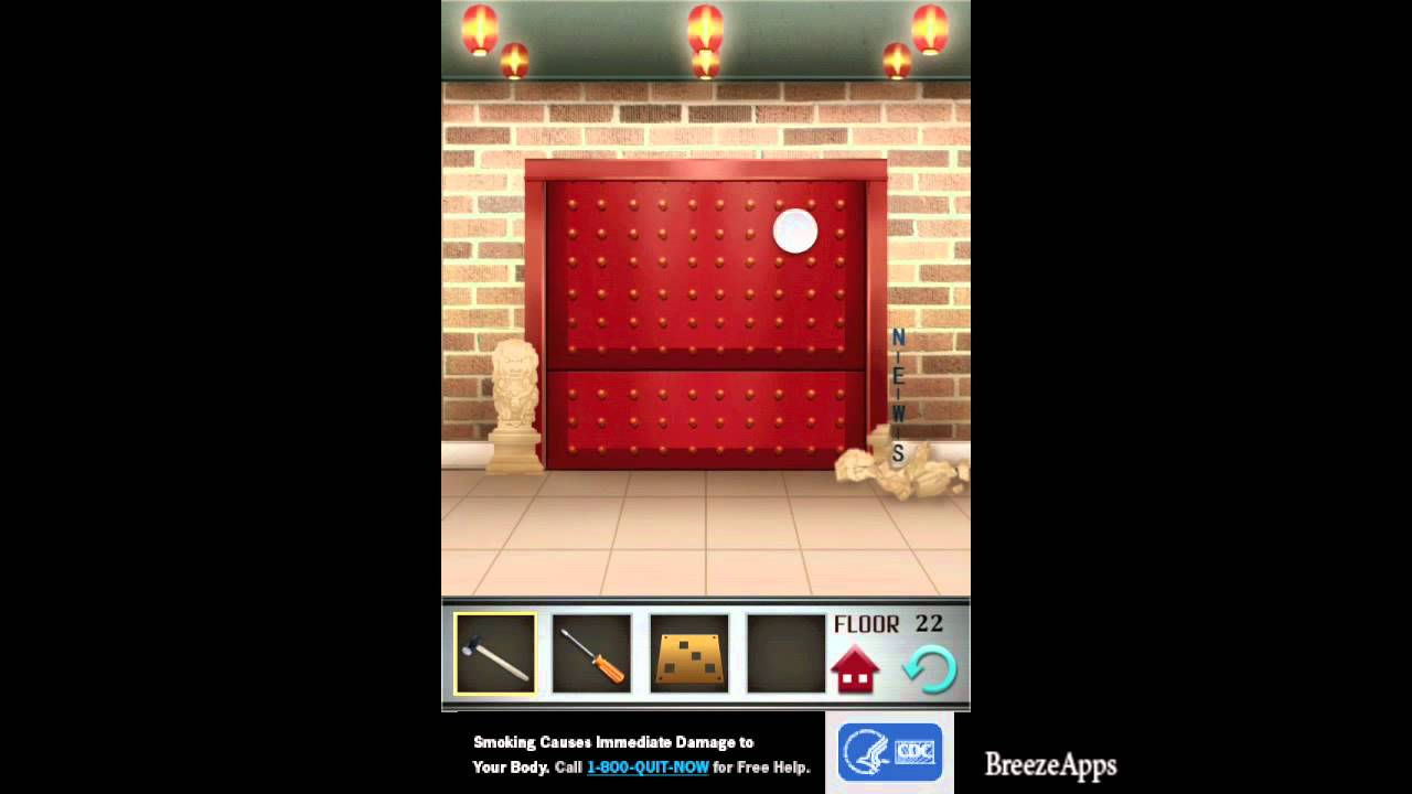 100 Floors Level 22 Walkthrough 100 Floors Solution Floor