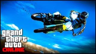 GTA 5 Glitches How To Stunt Glitch Bike Glide Glitch