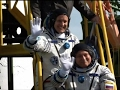Raw: American, Russian Going to Space Station