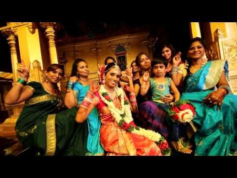 Lorans weds Saras - malaysian indian wedding montage