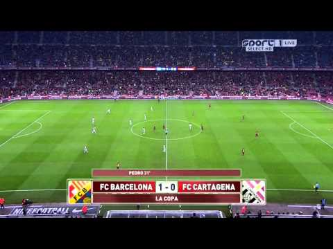 Barcelona - Cartagena Highlights HD 17.12.2013