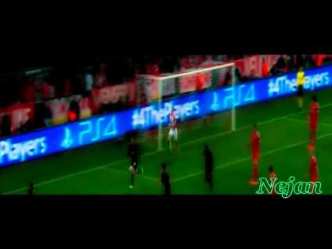 Patrice Evra amazing goal vs Bayern Munich (UCL Quarter-finals) 09/4/2014