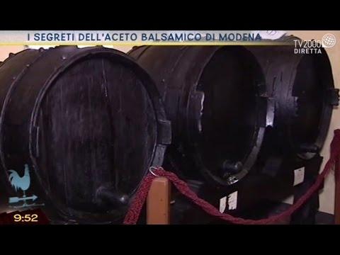 I segreti dell'aceto balsamico di Modena