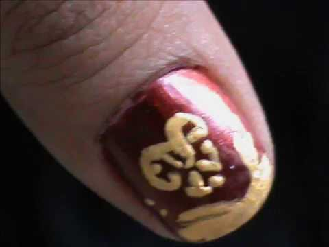 Tree In Snow How To Short Nails Designs To Do At Home Easy Nail Art