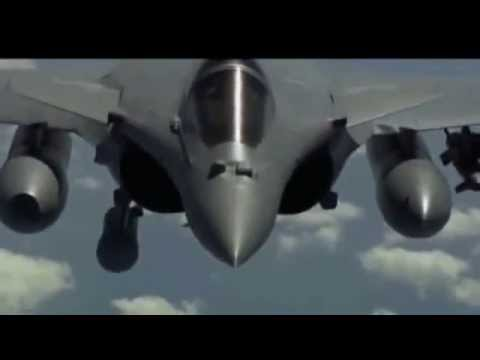 Clip Rafale của Pháp tham chiến tại Libya - Dassault Rafale