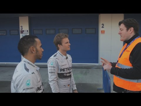 Allianz Safety Facts - Pedestrians - with Nico Rosberg and Lewis Hamilton